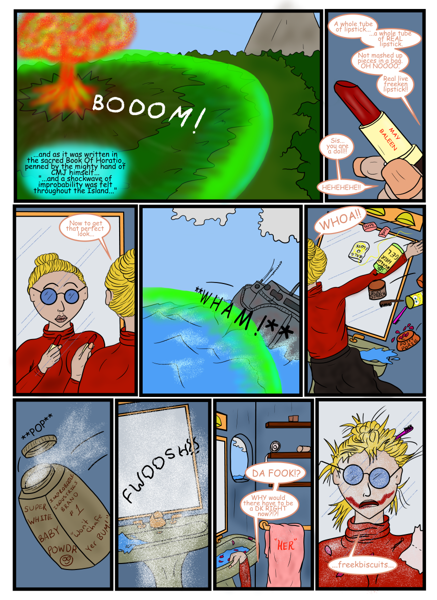 Page 99  A bad day for everyone